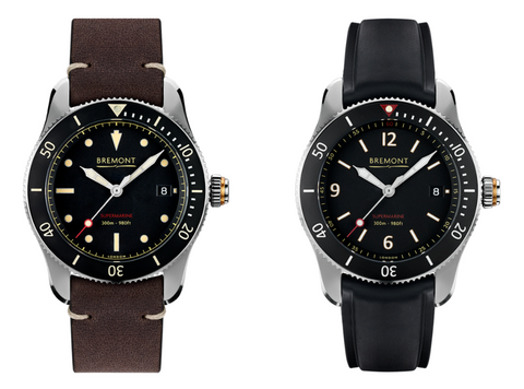 Bremont S301 and S300/BK