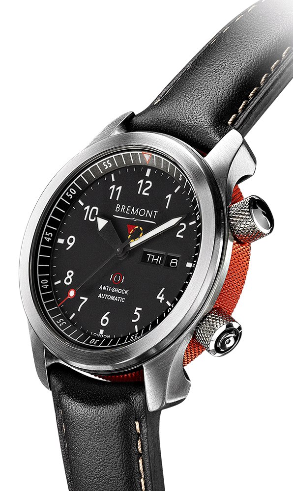 Bremont-MBII-BK-OR-Side