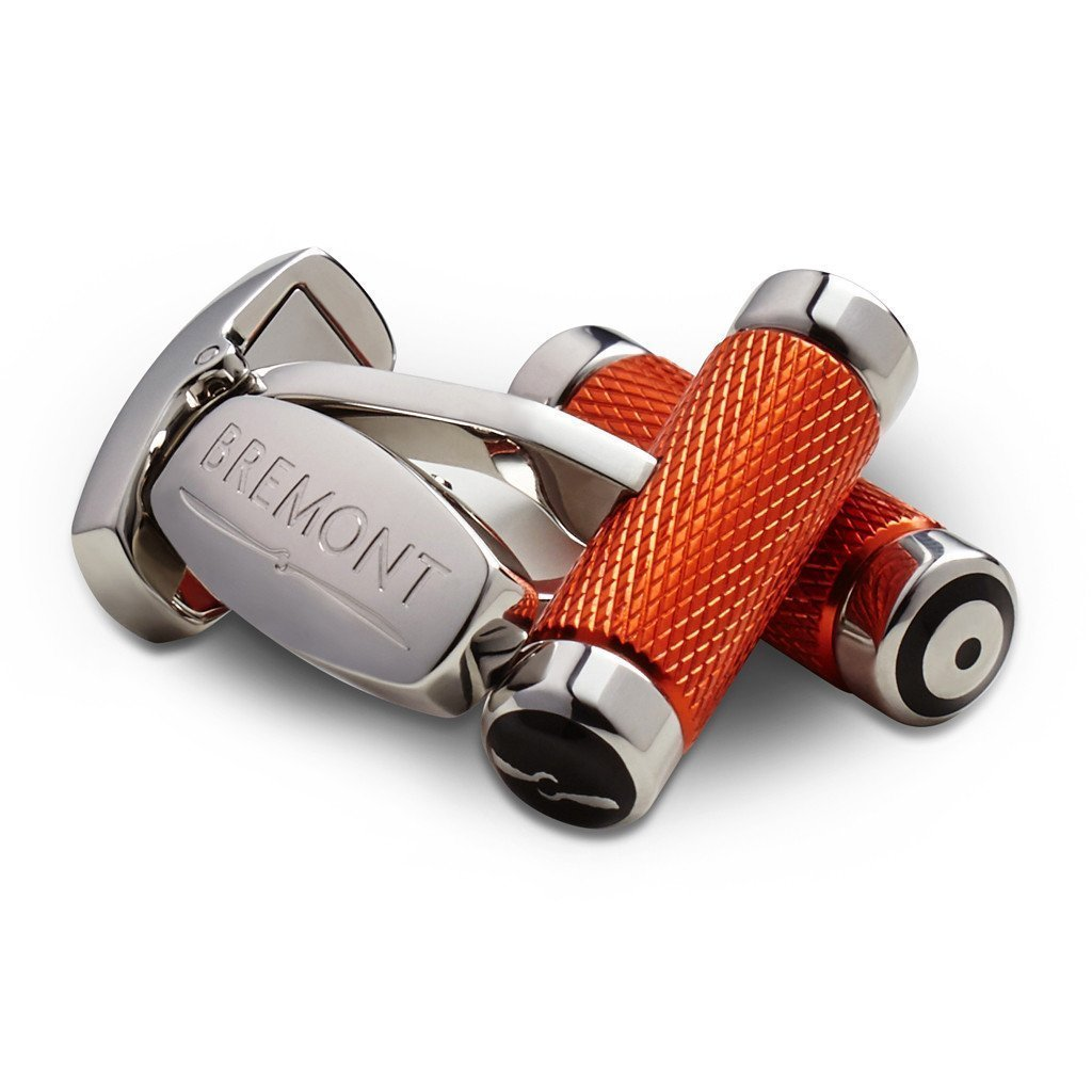 Bremont-T Bar Cufflinks-Orange