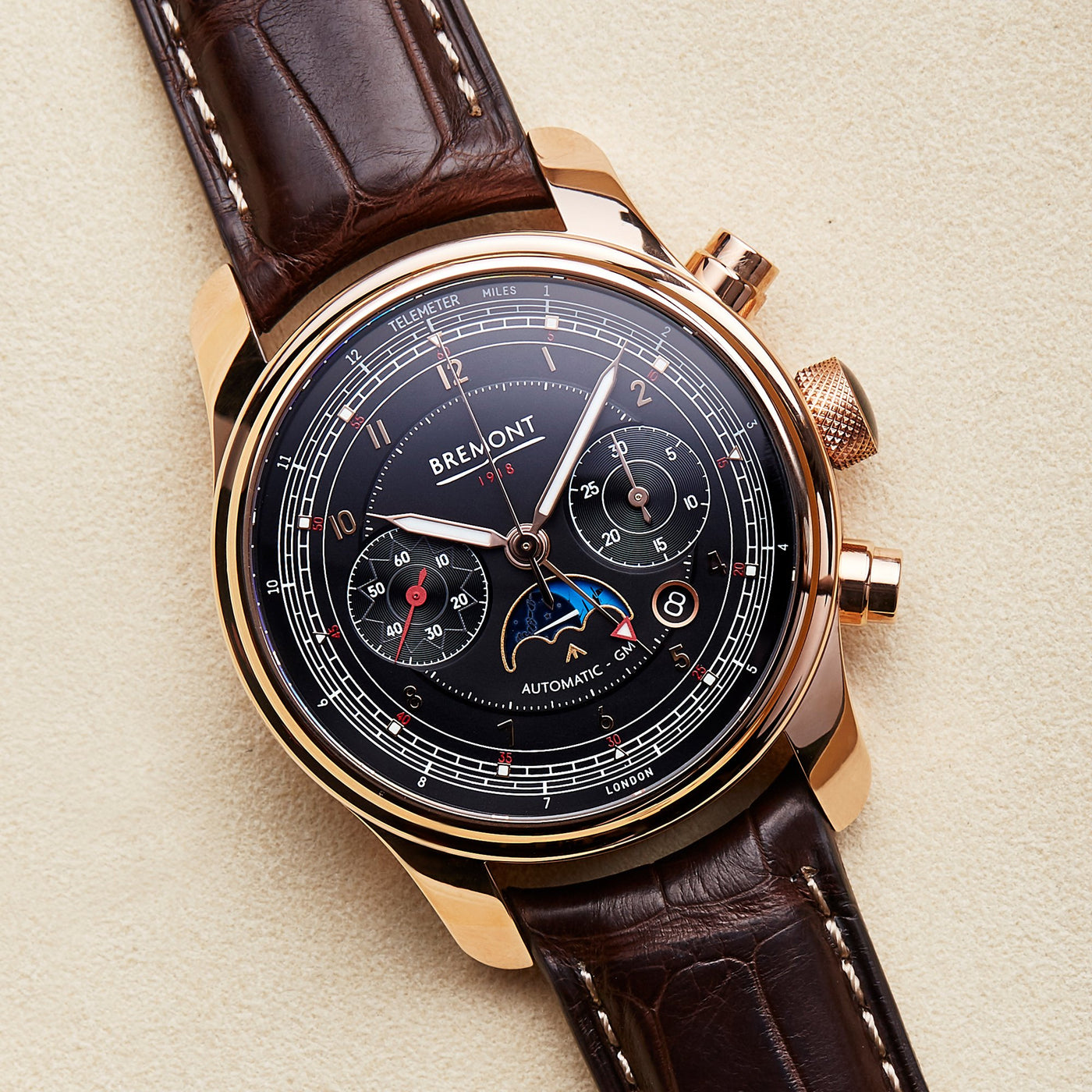 Bremont 1918 Rose Gold 2