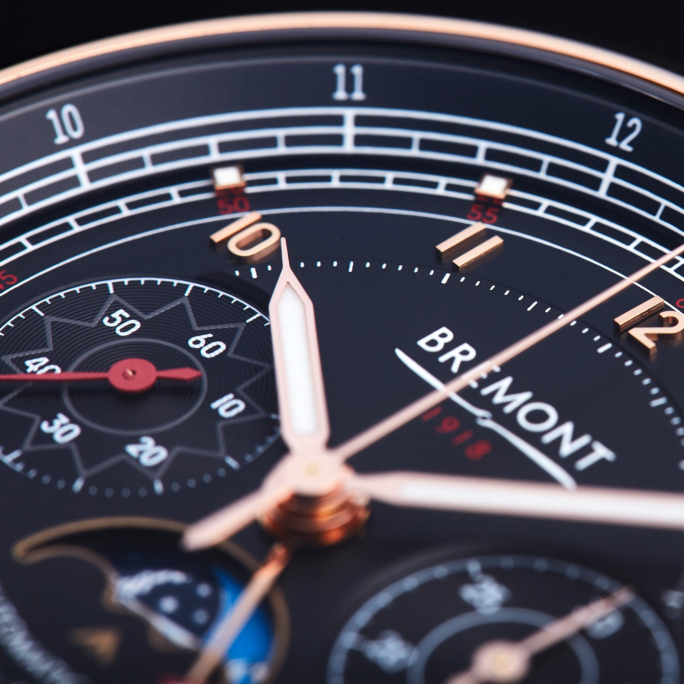 Bremont 1918 Rose Gold 3