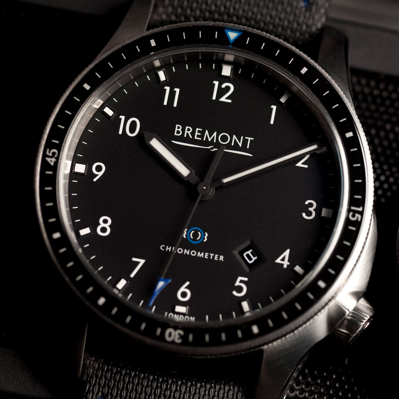 Bremont Boeing model 1 Black 1