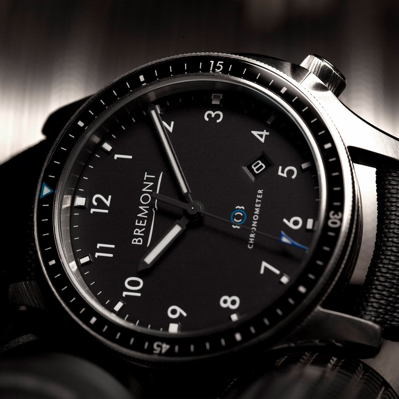 Bremont Boeing model 1 Black 2