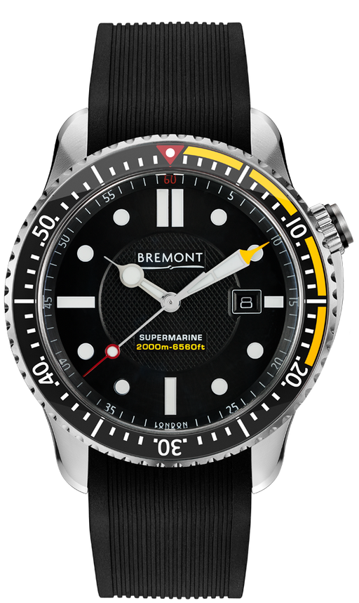 Bremont S2000 Yellow front