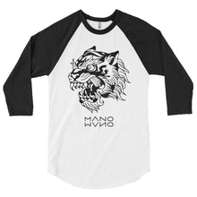 Load image into Gallery viewer, Beast Men's 3/4 sleeve raglan shirt