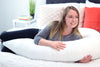 Lounge Town The U Body Pillow White