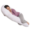 The U Body Pillow Cotton White Main