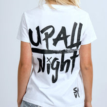 Load image into Gallery viewer, WOMEN'S UP ALL NIGHT T-SHIRT