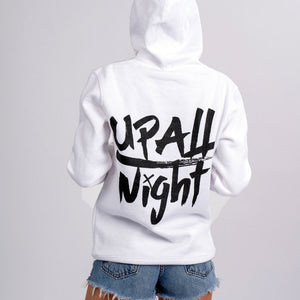 WOMEN'S UP ALL NIGHT HOODIE