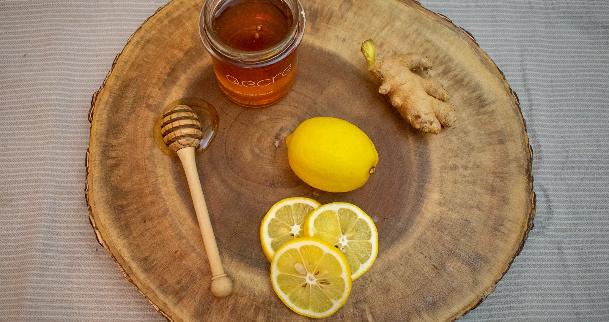 Honey and Ginger Drink - Cold remedy