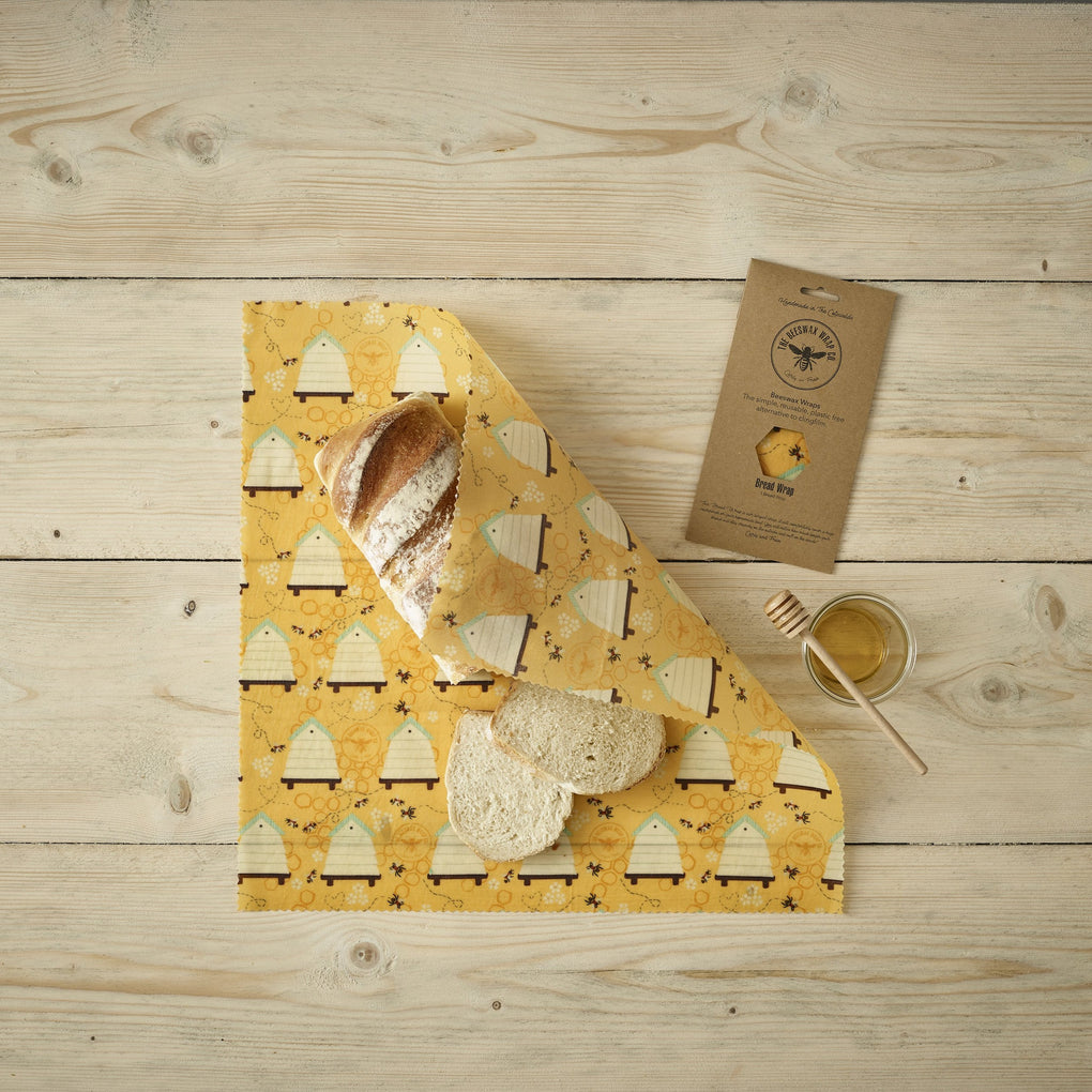 Beeswax Wraps - Five Combo Pack - Aecre Honey - English Clear Runny Honey -