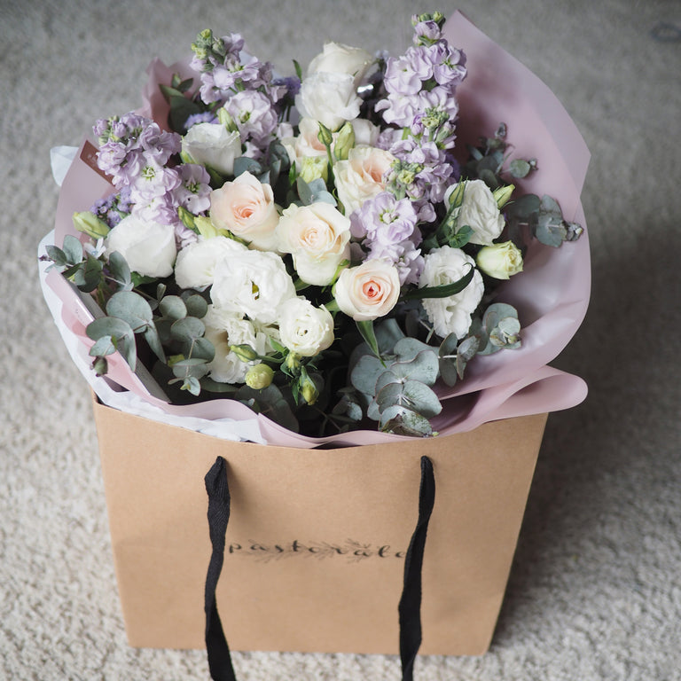 Medium wrapped flowers