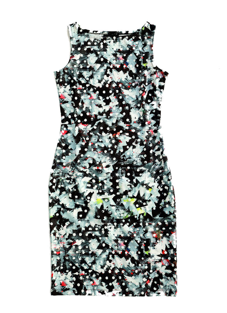 Sleeveless Dress / Riot No. 1 by Kate Iverson