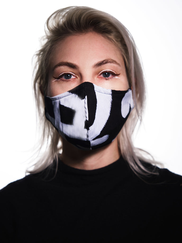 "Face mask / ""Untitled,"" 2015 – Lady Pink"