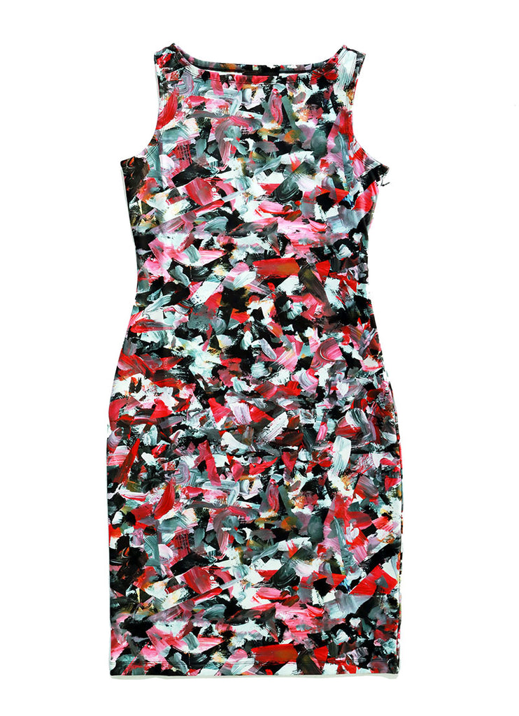 Sleeveless Dress / Riot No. 3 by Kate Iverson