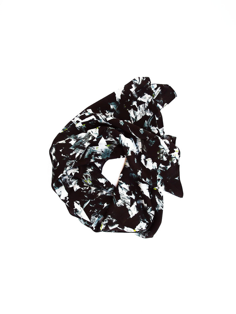 40 x 40 Inch Silk Scarf / Riot No. 2 by Kate Iverson
