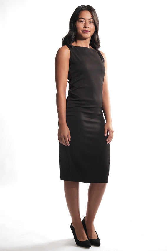 Blank Canvas Sleeveless Sheath Dress