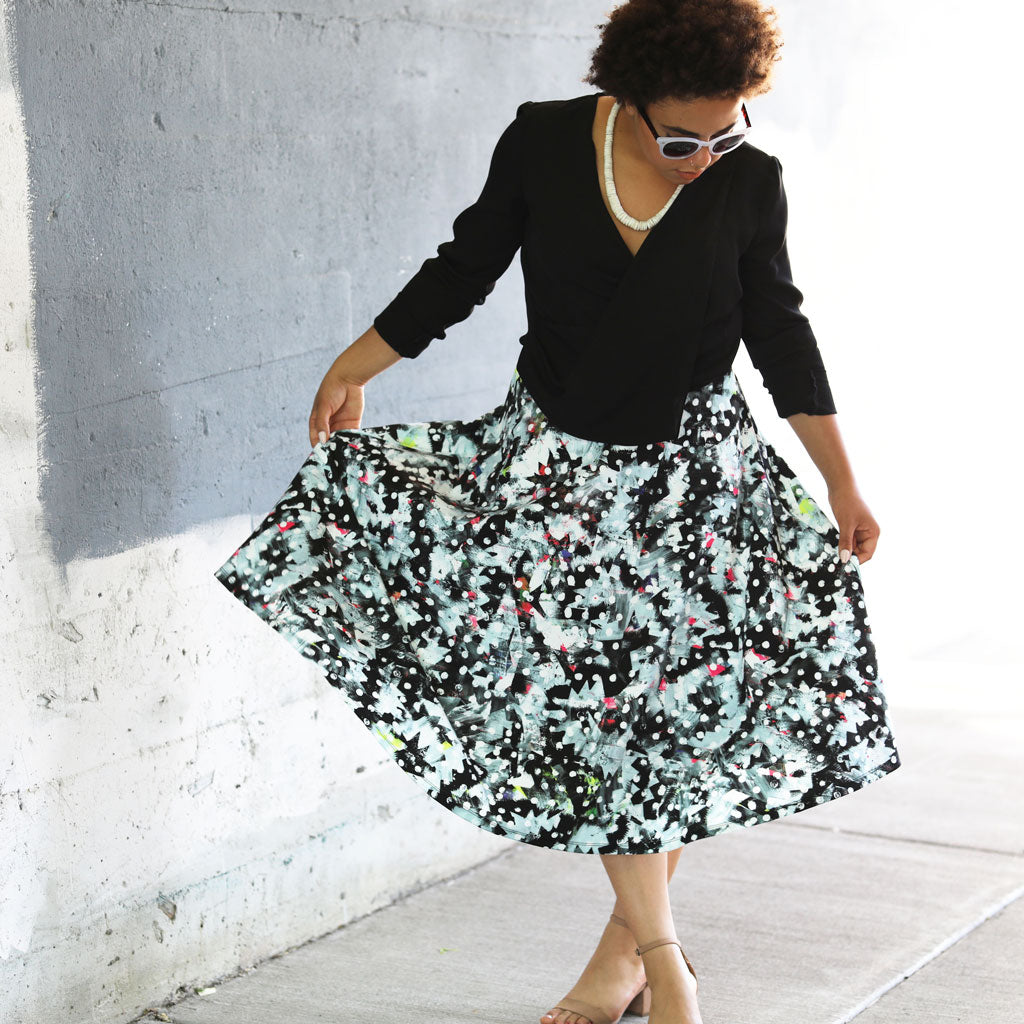 Midi Skirt / Riot No. 1, Kate Iverson