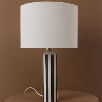 Toppu Table Lamp, Off White / Anthracite