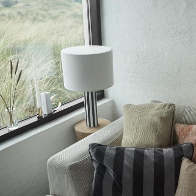 Toppu Table Lamp, Off White / Anthracites