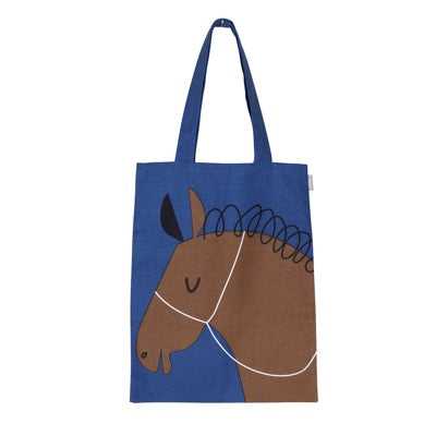Zorro Tote Bag, Blue