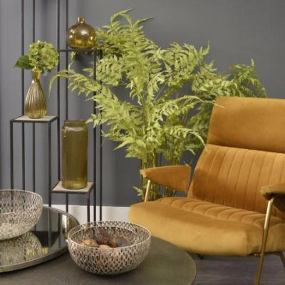 Waverly Mustard Velvet Occasional Chair