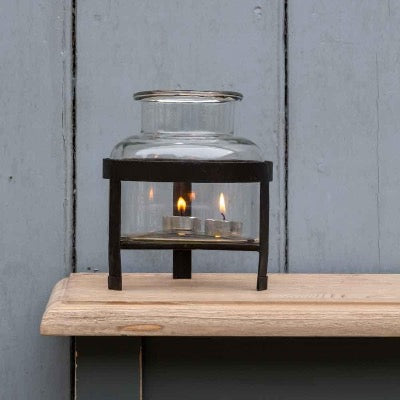 Belgo Jar Candle Holder/Lantern