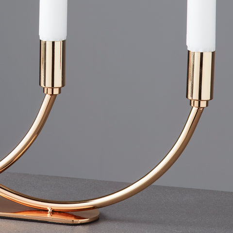 Gold Arches Candelabra