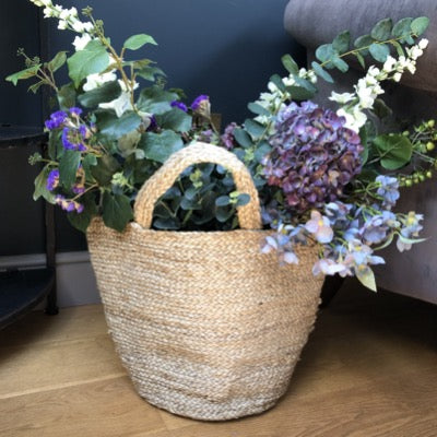 Jute Shopper / storage basket