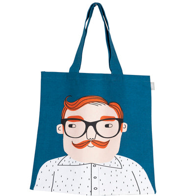 Luke Tote Bag, Blue