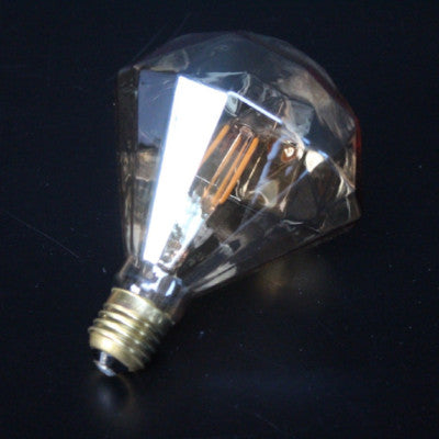 Diamond LED Amber 3W Light Bulb
