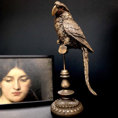 Antique Parrot on a Stand