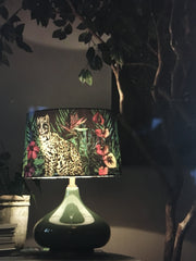 Midnight Jungle Lamp and Shade, Design by Matthew Williamson