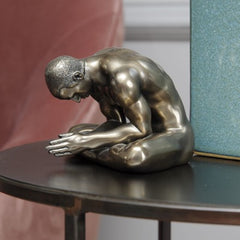 Keswick Meditating Man in Bronze, Small