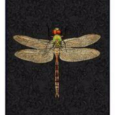 DragonFly poster and black frame, 30x40cm. Understated simplicity at it's best, the DragonFly print on a black background, framed in neutral black for added versatility.
