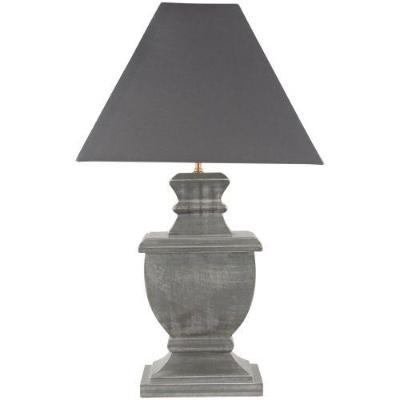 Lotte Table Lamp Antique Fir with Shade