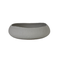 Mike ceramic dish, grey, rural, rustic, textured surface