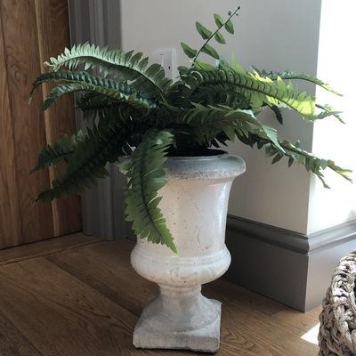 Birkdale Stone Planter, made from stoneware in stone/grey tone colour.