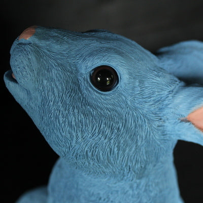 Posh Pet, Blue Rabbit, 28cm