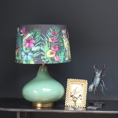 Matthew Williamson Midnight Jungle Lamp and Shade