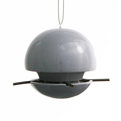 Birdball Seed Bird Feeder, Grey