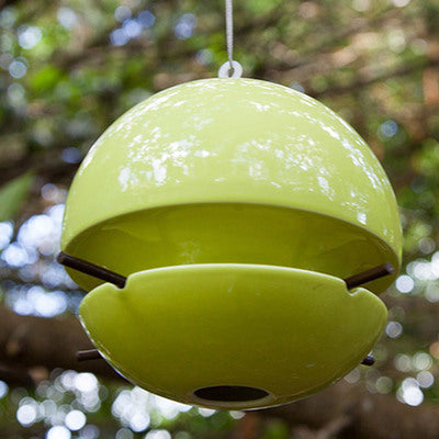 Birdball Seed Bird Feeder, Lime