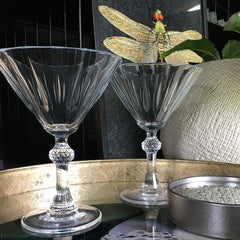 Diamond Martini Cocktail Glass