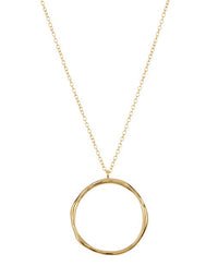 Gorjana's Quinn Short Necklace in Gold - product view