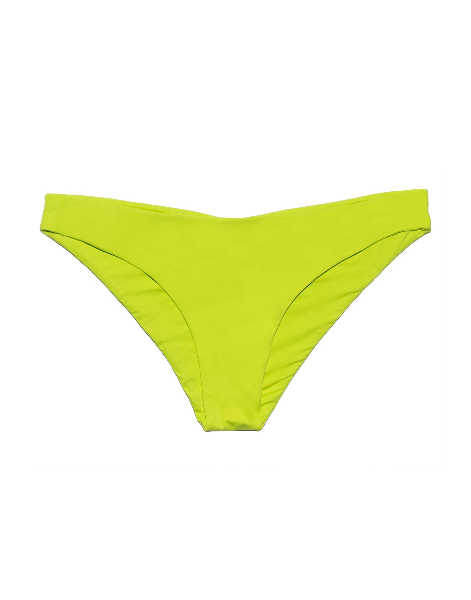 Stephanie Midi Bikini Bottom in Lime - product view