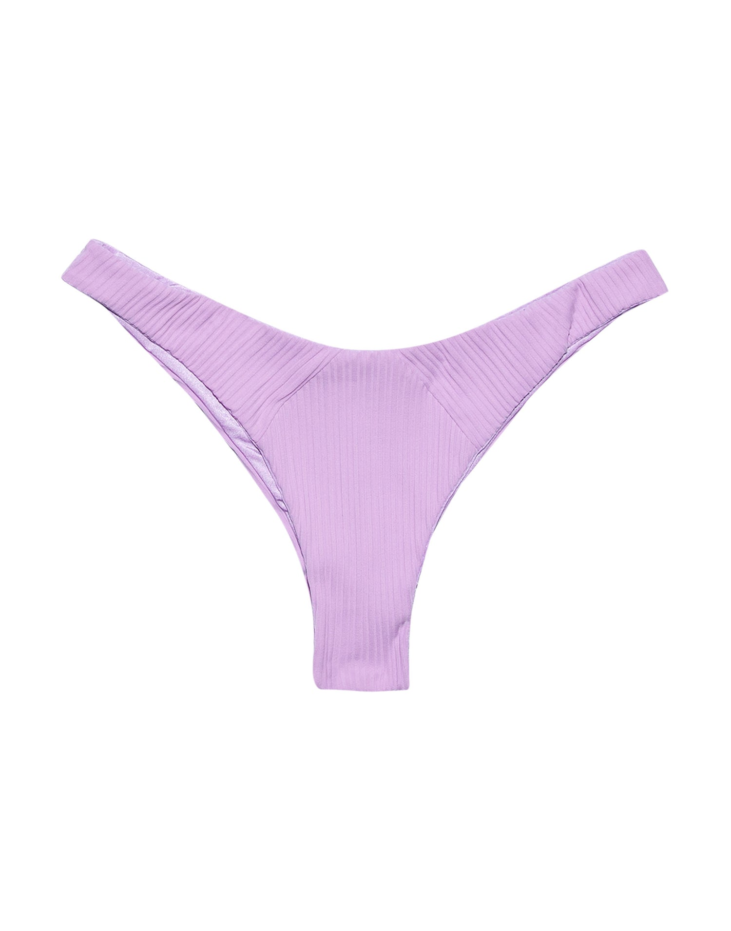 Sydney Brazilian Bikini Bottom in Lavender Rib - product view