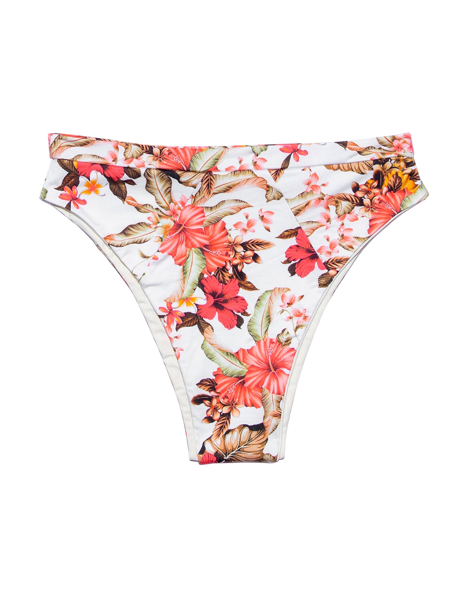 Floral Print High Waisted Bikini - product view