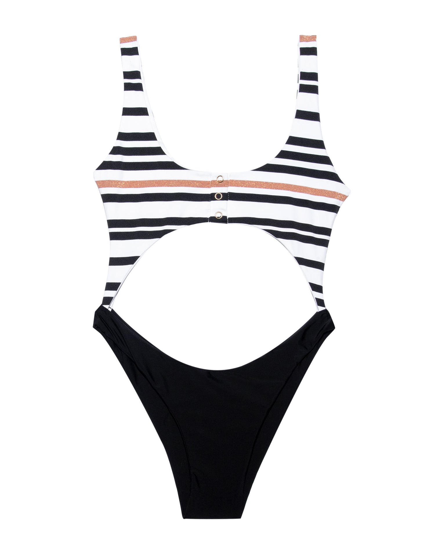 Product View - Kelly Monokini Swimsuit in Black Multi