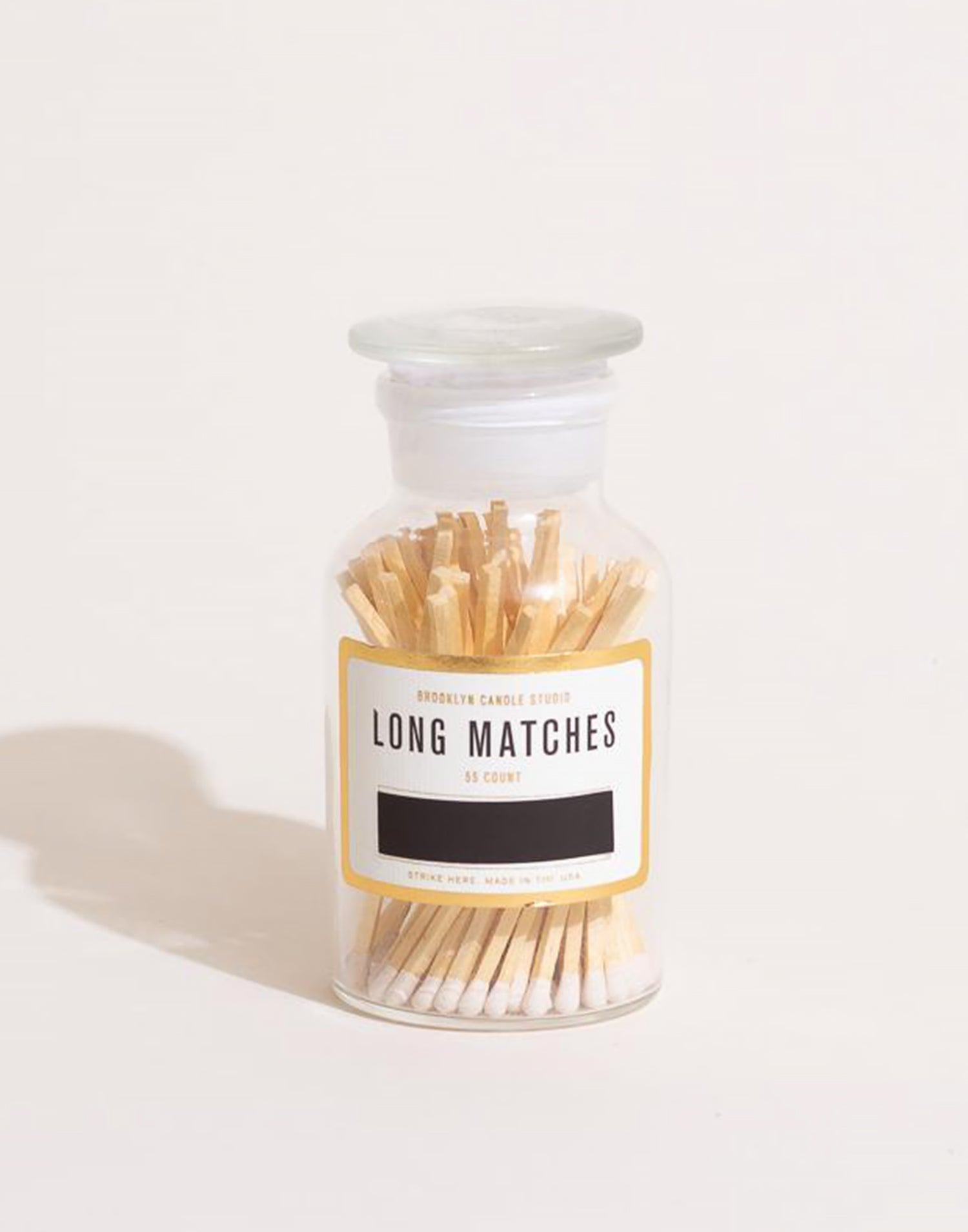 Brooklyn Candle - Apothecary Match Bottle