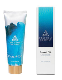 Conscious Coconut Oil 3.4oz - product view